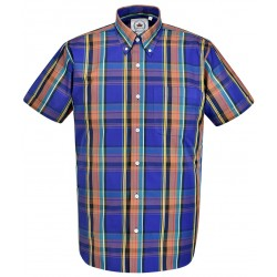 RELCO Short Sleeve Button-Down - PURPLE