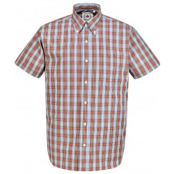 RELCO Short Sleeve Button-Down - BLUE