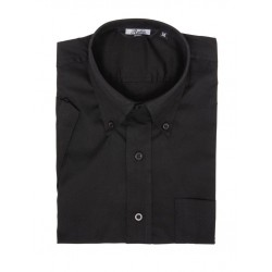 RELCO Short Sleeve Button-Down - OXFORD BLACK