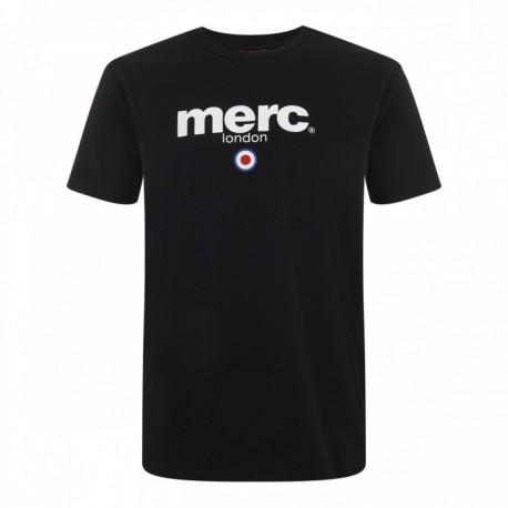 Camiseta Merc Manga Corta BRIGHTON - NEGRA