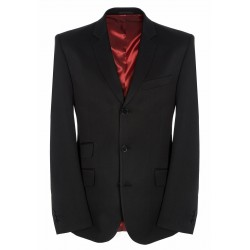 Merc Plain BLACK Suit Jacket
