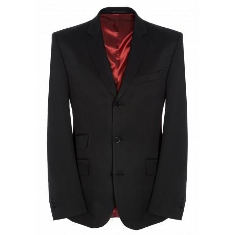 Merc Plain BLACK Suit Jacket