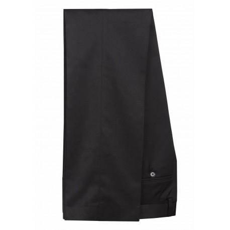 Merc Plain BLACK Suit Trouser