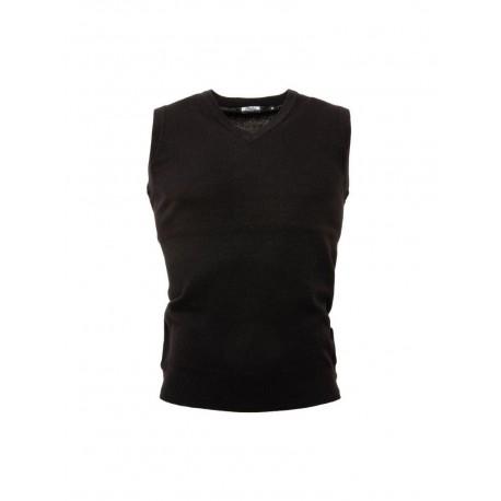 RELCO Mens v-neck Tank Top BLACK