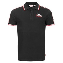 Polo Shirt LONSDALE HUNSTATON - BLACK