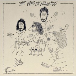 THE WHO - The Who By Numbers - LP