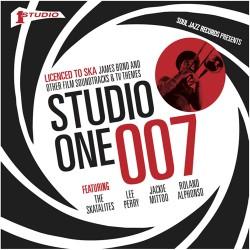 """VA - Studio One 007 , Licensed To Ska - 5x7"""" RSD"""