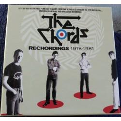 THE CHORDS - Rechordings 1978-1981 - 5CD