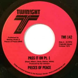 PIECES OF PEACE - Pass It On - 7""