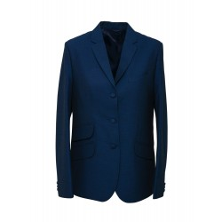 LADIES THREE BUTTONS JACKET - TONIC BLUE