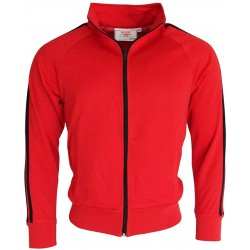 RELCO Mens Sports TRACK TOP - RED
