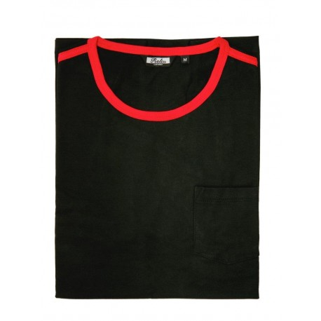 Camiseta RELCO de Rayas - NEGRO