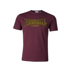 LONSDALE T-Shirt Classic - OXBLOOD