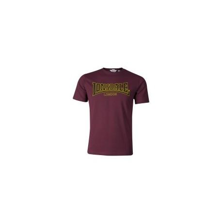 Camiseta Clásica LONSDALE - BURDEOS