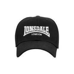 LONSDALE WIGSTON Cap - BLACK