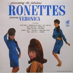 THE RONETTES - Presenting The Fabulous Ronettes Featuring Veronica - LP
