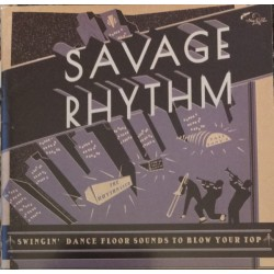 VA -  SAVAGE RHYTHM : Red Hor Jazz Tunes From The Great Swing Era - 2LP