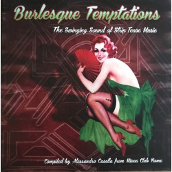 VA - Burlesque Temptations - The Swinging Sound Of Striptease Music - LP+CD
