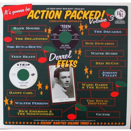 VA -  It's Gonna Be Action Packed! Volume 3 - LP