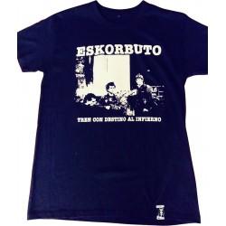 Camiseta Oficial ESKORBUTO - Tren Con Destino Al Infierno