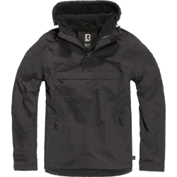 BRANDIT WINDBREAKER Jacket - BLACK