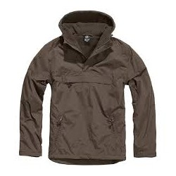 BRANDIT WINDBREAKER Jacket - BROWN
