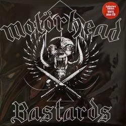 MOTORHEAD - Bastards - LP+CD