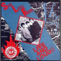 STIFF LITTLE FINGERS - Live and Loud !! - LP