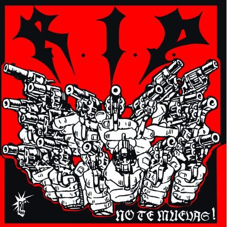 RIP - No Te Muevas - LP + Revista