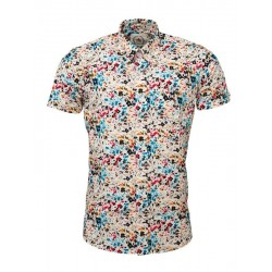 RELCO Short Sleeve Button-Down - MULTI COLOURED