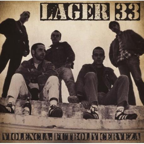 LAGER 33 - Violencia, Futbol Y Cerveza - LP