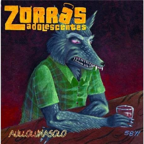 ZORRAS ADOLESCENTES -Aullolunasolo - LP