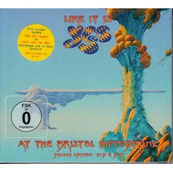 Yes – Like It Is: Yes At The Bristol Hippodrome - CD+DVD
