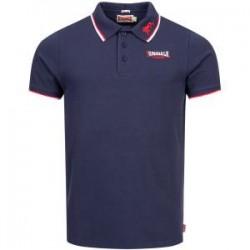 LONSDALE Polo Shirt  Slim Fit LION GOTS - NAVY