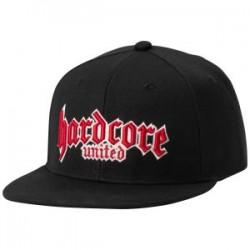 Harcore United 3D LOGO Cap - BLACK