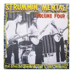 VA - Strummin' Mental! Volume Four - Real Gone Instrumental R&R & Surf: 1958-1966 - LP