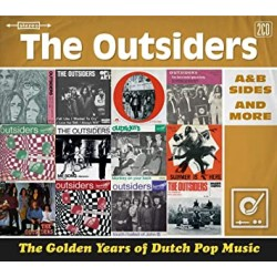THE OUTSIDERS - The Golden Years Of Dutch Pop Music (A&B Sides And More) - 2xCD