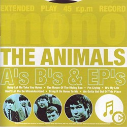 THE ANIMALS - A's B's & EP's - CD