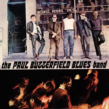 THE PAUL BUTTERFIELD BLUES BAND - The Paul Butterfield Blues Band - LP