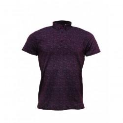 RELCO Polo Shirt Short Sleeved - BURGUNDY