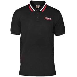 Polo Shirt LONSDALE BARLASTON - BLACK