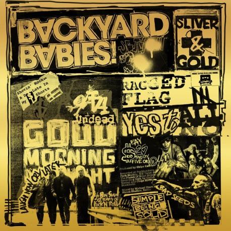 BACKYARD BABIES - Silver & Gold - LP+CD